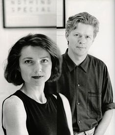 Zuzana Licko y Rudy VanderLans, creadores de la revista de diseño Emigre.