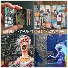 Artist Interview with Roxanne Coble of Bybun.com - she talks candidly about using art to confront and explore fears. Really powerful.