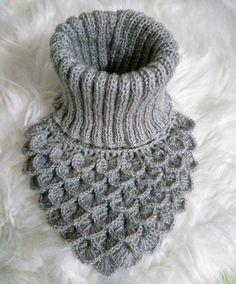 "(@ezmagnigne): ""#krokodil #krokodilboyunluk #winter #winterseason #boyunluk #winterclothes #örgükeyfi"""