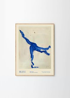 Bleu Art print by Lucrecia Rey Caro exclusively for THE POSTER CLUB. Printed on 265 g high quality art paper. Lucrecia Rey Caro is an artist and freelance graphic designer from Argentina. Discover more from Copenhagen based The Poster Club! We offer Worldwide Shipping! Graphic Art Prints, Framed Art Prints, Freelance Graphic Design, Abstract Wall Art, Cool Drawings, Line Art, Club, Copenhagen, Printed