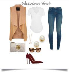 Back To Basics with Sleeveless Vest