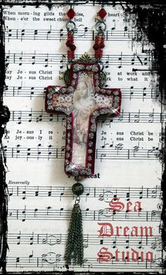 Blessed Madonna necklace by Sea Dream Studio  http://www.etsy.com/transaction/63280053