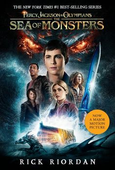 New Percy Jackson and the Olympians: The Sea of Monsters movie-based book cover reveal! Although I'm still wondering how they're going to fill in all the missing info from the first one...