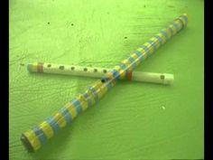 Medidas para flautas de pvc - YouTube