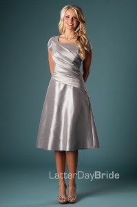 Modest Bridesmaid Dresses : Charlie