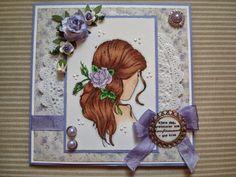 Berits Hobbyblogg: Konfirmasjon Vintage Shabby Chic, Frame, Cards, How To Make, Blog, Design, Decor, Picture Frame, A Frame