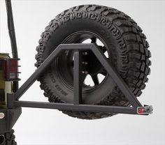 Body Armor 4x4 Tire Carrier Swing Arm   87-06 Jeep Wrangler YJ/TJ