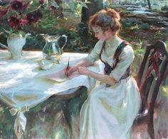 """Writing Home"" by Daniel F. Gerhartz"