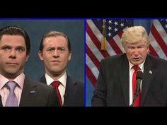 SNL - Alec Baldwin returns to brutally mock Donald Trump's Russian pee-pee party - YouTube