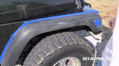How To: Paint Fender Flares On A 1997   2006 Jeep Wrangler TJ   GetJeeping