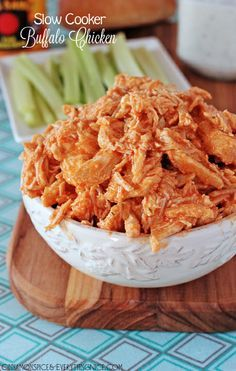 Slow Cooker Cheddar Buffalo Chicken Sandwiches with Ranchâ?¦