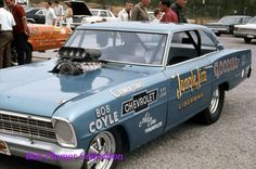 Jungle Jim's early funny car
