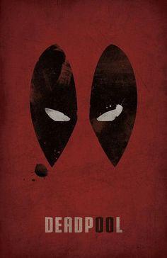 Deadpool Minimalist Poster Marvel by WestGraphics on Etsy Mais Marvel Vs, Marvel Dc Comics, Marvel Heroes, Poster Marvel, Superhero Poster, Superhero Logos, Deadpool Wallpaper, Marvel Wallpaper, Geeks