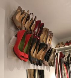 Fabulous shoe storage - wish I'd thought of it sooner - and your shoes are kept in perfect condition.