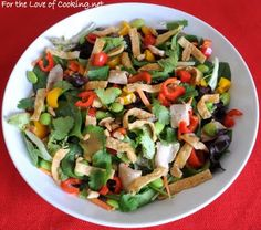 Thai Chicken Salad~ very similar to Panera's Thai Chicken Salad... which I love, love, love...