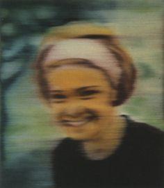 Gerhard Richter » Art » Paintings » Photo Paintings » Inge (coloured) » 48-8