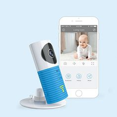 JTD ® Smart Wireless IP WiFi DVR Security Surveillance Camera with Motion Detector Two-way Audio & Night Vision Best Security Camera Baby Monitor for your Baby,Home, Pet or Business (Blue) - $59.99