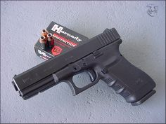 Glock 21, a full-size .45 ACP pistol.  If you prefer a .45's stopping power, then get a Glock 21 and be done with it.
