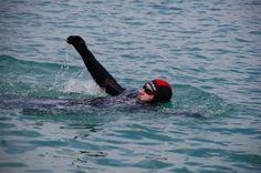 Carlos Peña nadará 80 km de forma continuada en el Gran Embalse de Alcántara (Cáceres) a favor de CEAFA