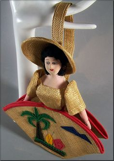 Vintage Straw purse - I have one with cherries.