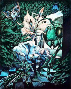 Hans Arnold Work In Sweden, Creepy Horror, Horror Stories, Trippy, Kitsch, Digital Illustration, Surrealism, Fairy Tales, Nature