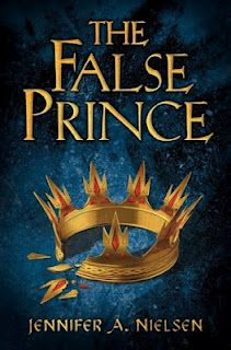 The False Prince by Jennifer A. Neilsen....this is such a fabulous book. Great premise and I couldn't put it down. Jennifer did a brilliant job!