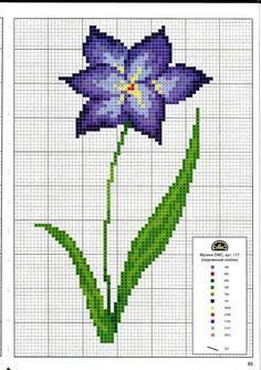 Gallery.ru / Фото #85 - Вышиваем крестом цветы, букеты, деревья - tymannost
