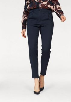 """Y.A.S Anzughose »CLADY« für 29,99€. Modische Bundfaltenhose """"Clady"""" von Y.A.S., Im trendigen Boyfriend Look bei OTTO"""