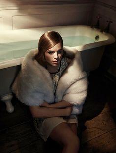 faux fur | photo phil dunlop for Schön! Magazine