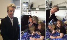 Peter Capaldi surprises young Doctor Who fan in hospital, stays in character the whole time