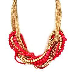 Statement necklace, Pree Brulee.