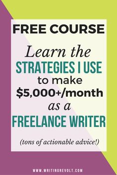 How can a 14 year old become a freelance writer?
