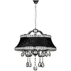 Buy inspire chandelier 5 light ceiling fitting black at argos buy krystle chrome pendant light at argos your online shop for aloadofball Image collections