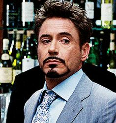 Tony Stark is ever so slightly done with you.<<< My god I snorted I didn't expect the head shake