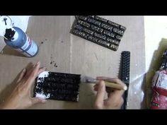 Foam brick wall tutorial
