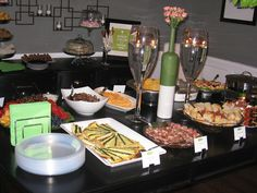 Food for Wine Party Idea