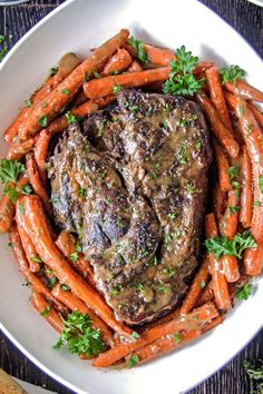Best Pot Roast, Carrots and Gravy - Powered by @ultimaterecipe
