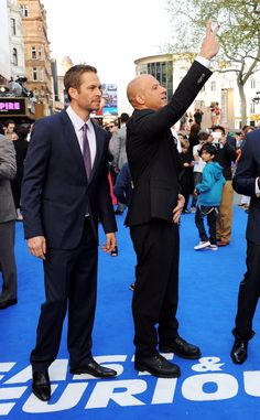 Paul and Vin at London FF6 Premiere