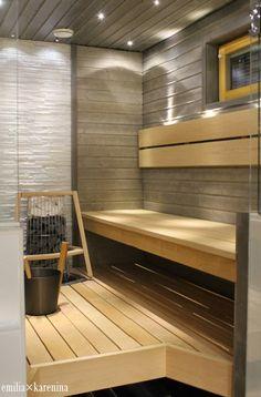 Sauna Steam Room, Sauna Room, Jacuzzi, Massage Room Decor, Indoor Sauna, Portable Sauna, Laundry Room Bathroom, Bathrooms, Sauna Design