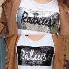 Coucou les filles ! Vous allez être de quelle humeur aujourd'hui ? Radieuse ou Râleuse ?😄😄 Moi un peu des 2 certainement 😉 tee-shirt à message @grain_de_malice 😍 Très belle journée !💋💋💋 #graindemalice #vetements #shoping #fashion #fashionblogger #blogueuse #blogueusedusud #montpellier