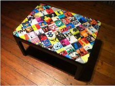 Coffee Table Cover Ideas creative coffee table ideas creative coffee table ideas for small living room diy coffee table decorations Vintage Retro Blue Note Album Cover Artwork Decoupage Coffee Table Lewisham Picture 1