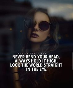 """A strong woman looks a challenge dead in the eye and gives it a wink.""Powerful quotes for women are words of wisdom about the wonderful, cofounding and impressive existence of a woman in this socially deprived, mode . Classy Quotes, Girly Quotes, Real Quotes, Wise Quotes, Random Quotes, Powerful Quotes, Poetry Quotes, Qoutes, Badass Girls Quotes"