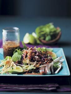 Recipes | Thai salad with warm sesame and ginger dressing from Food & Home