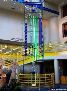 Water Clock at the Children's Museum of Indianapolis, Indiana