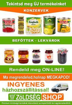 ZöldségSHOP - zöldségek és gyümölcsök webáruháza