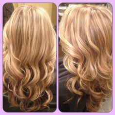 Highlight and blonde lowlight I did for Taylor! Love the subtle dimension.