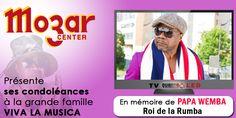 La Société Mozar Center présente ses condoléances à la grande famille VIVA LA MUSICA Tv, Announcement, Musica, Large Families, Television Set, Television