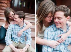 Erika + Andrew // University of Pennsylvania // Philadelphia Engagement Session // alison dunn photography