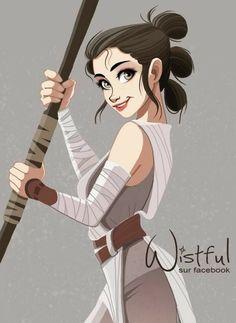 Rey by Wistful.Art @Facebook