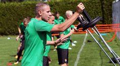Training Sven van Beek